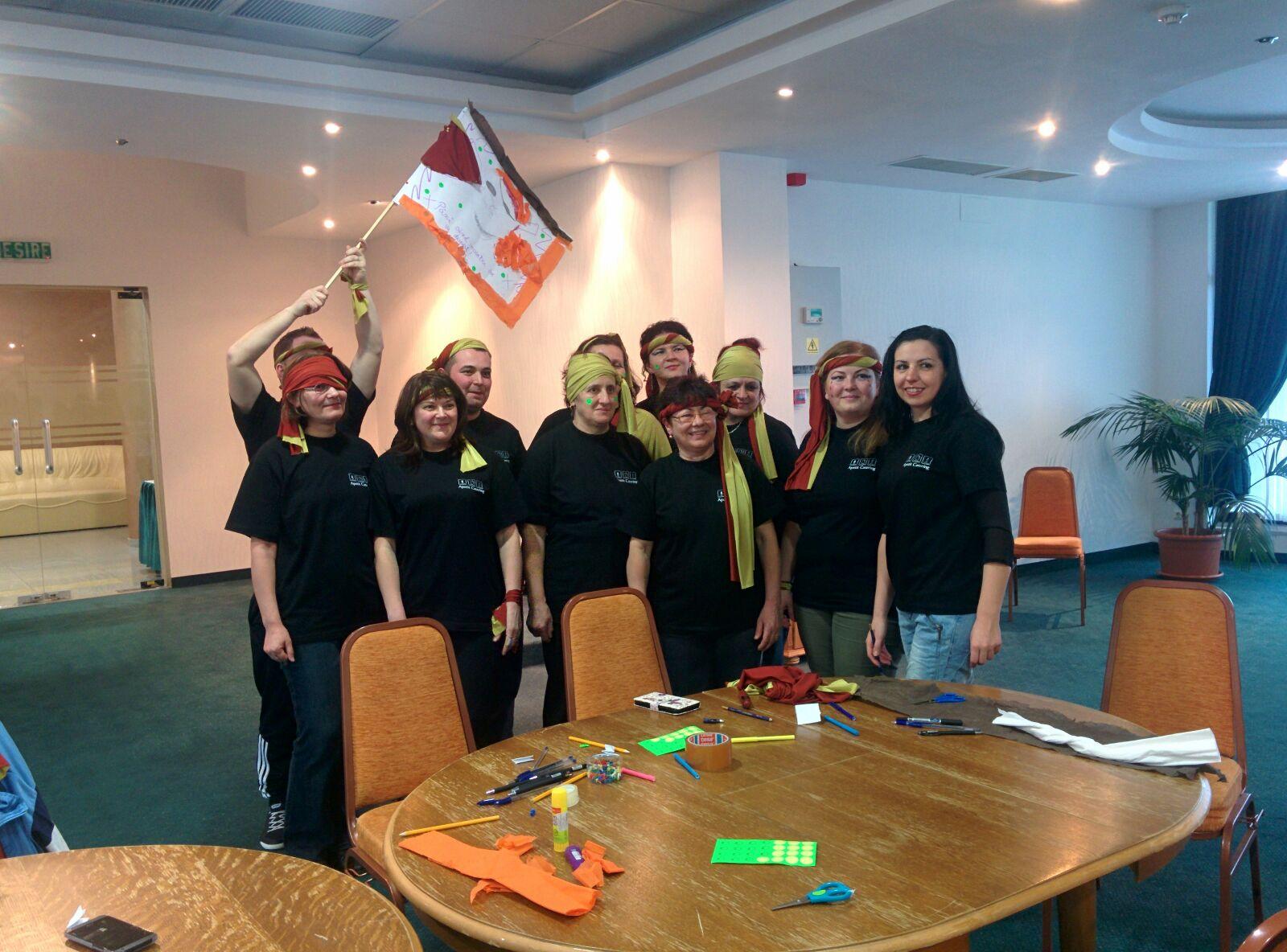 Team Building:Piratii si Insula Apetit